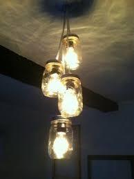mason jar track lighting. custom mason jar chandelier track lighting