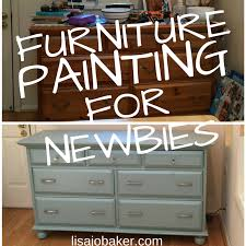 my first time painting furniture aka if i can do it anyone can lisa jo baker