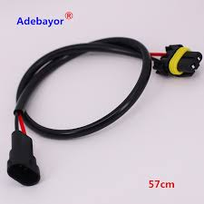 1pcs lot free shipping h11 h8 h9 wire harness for hid ballast to HPS Ballast Wiring Diagram at Hid Ballast To Stock Wiring Harness