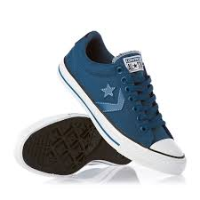 converse shoes black and blue. converse shoes - star player ev ox moroccan blue/black /white black and blue