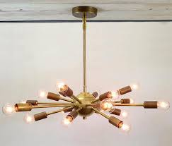 living attractive 18 light starburst chandelier 8 light starburst chandelier