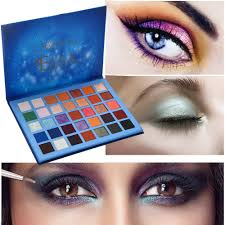 dels about 35colors cosmetic powder eyeshadow palette makeup natural shimmer matt set us s