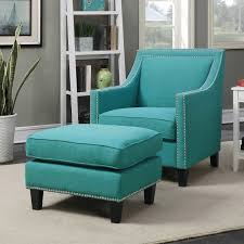 Teal Chair Fancy Teal Chair And Ottoman 26 In Interior Decor Home With Teal