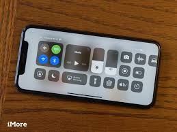 horiztal how to enable control center when your iphone x is horizontal imore