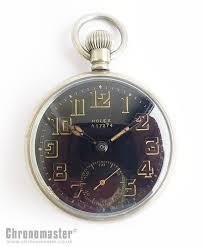 rolex military pocket watch