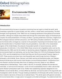 environmental ethics pdf available