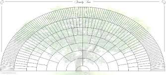 Blank Family Tree Charts Genealogy Chart Template Download