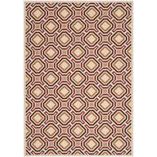 safavieh veranda creme indoor outdoor rug 5 3 x 7 7 only