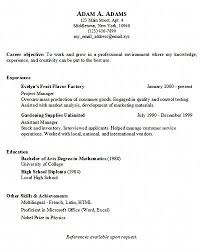 Basic Resume Template Free Microsoft Word Templates Pics For