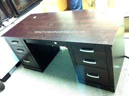 desks sauder secretary desk home office with hutch computer port executive assembled in dc by inside