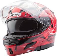 Gmax Gm54s Size Chart Gmax Gm54s Red Maroon Scribe Graphic Modular Snow Helmet