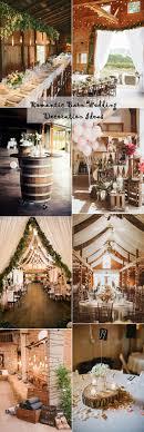 rustic romantic wedding. 25 Sweet and Romantic Rustic Barn Wedding Decoration Ideas