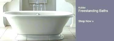 kohler soaking tub faucets stand alone tubs bathtubs whirlpool for decor 4 home improvement cast