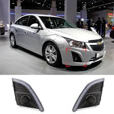 Car White Daytime Running Light For Chevrolet Chevy Cruze 2013 ...