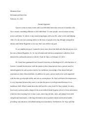 reseacher essay nonverbal behavior culture gender and the media  3 pages informational interview