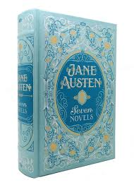 jane austen seven novels barnes noble leatherbound classic collection jane austen barnes and noble first printing