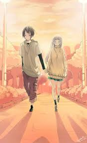 anime holding hands and walking. Unique Walking Walk On Together By Faustsketcher  For Anime Holding Hands And Walking G
