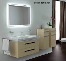 Bathroom Mirror Demister Bathroom Mirrors With Lights And Demister Home Design Ideas