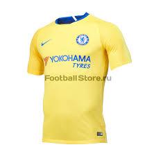 Футболка выездная <b>Nike Chelsea</b> 2018/19 – купить в футбольном ...