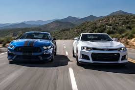 2017 Chevrolet Camaro ZL1 vs. 2017 Ford Mustang Shelby GT350R: The ...