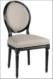 dining room chair styles french oval back side chair
