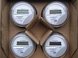 itron watthour meter kwh c1s reset to zero lot of 4 • 74 99 itron watthour meter kwh c1sr centron 240v 200a 4