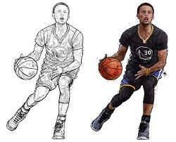 golden state warriors coloring pages 15