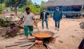 Resep kue ketan kinca resep kue ketan kinca. Makanan Khas Aceh Tamiang Bubur Pedas Podium Post