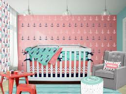 oration nautical crib bedding boy nursery aqua baby sets grace