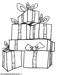 Christmas Present Coloring Pages » Coloring Pages Kids