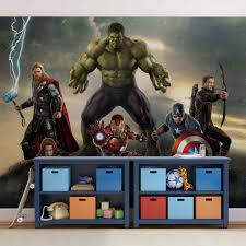 Marvel Avengers Battle Fotobehang Behang Bestel Nu Op Europostersbe