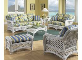 wicker furniture. Contemporary Wicker White Wicker Lanai Collection Inside Furniture N