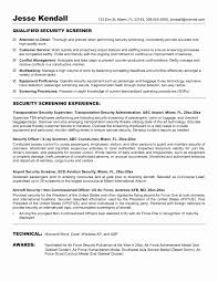 Security Resume Sample Computer Security Specialist Sample Resume Fresh It Security 80