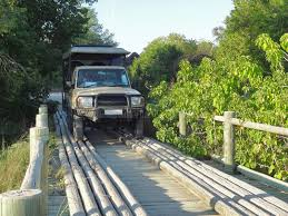 Wooden Bridge Game Offroad Vehicle On Wooden Bridge Stock Photo Image of 49