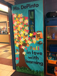 classroom door decorations for fall. Contemporary For Fall Themed Classroom Door Decorations With Students  Names Inside Classroom Door Decorations For Fall