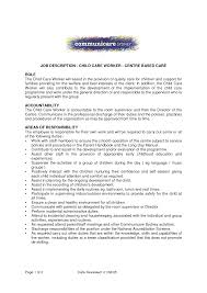 Cover Letter For Care Support Worker