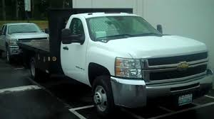 2007 Chevy 3500 Flat Bed - YouTube