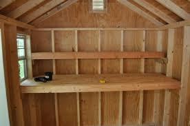 shed storage shelves