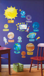 Space Themed Bedroom Space Theme Ideas Space Decal Wall Stickers Fun Decorcom