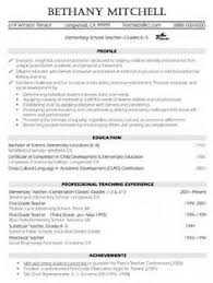 career objective for resume for fresher teacher essay writing elementary teacher resume examples we provide as reference to make correct and good quality resume