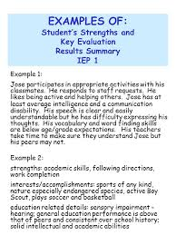 Sample Of Strength And Weaknesses Personal Strength Examples Magdalene Project Org