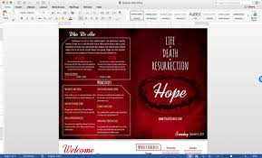 Bulletin Templates Word Free Church Bulletin Templates 8 Professionally Designed Bulletins