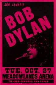 Concert Poster Design Bob Dylan Us Concert Poster 1981