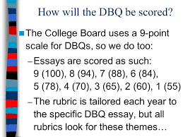 how to write a dbq suggestions for success in advanced placement  7 how