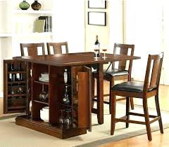 Wine rack dining table Dark Cherry Kitchen Dining Room Table With Wine Rack Bar Height Drop Leaf Table Simple Kitchen Design With High Dining Room Table With Wine Rack Canchiinfo Dining Room Table With Wine Rack Dining Room Table With Wine Rack