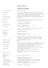 Graduate School Cv Template Graduate School Admissions Resume Template Student Templates