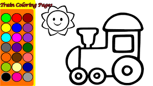 Small Picture TRAIN COLORING PAGES GAME Coloring Games Song Nursery Rhymes