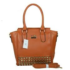 CoachOutletStore Find fashion styles of Coach Legacy Tanner In Studded  Small Tan Crossbody Bags BNL