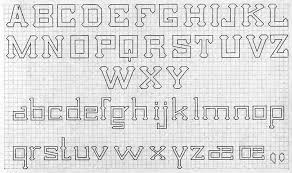 Letters On Graph Paper Magdalene Project Org