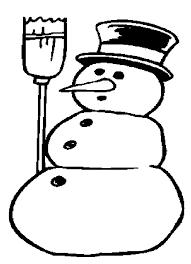 Small Picture Snowman Coloring Pages mistsluier